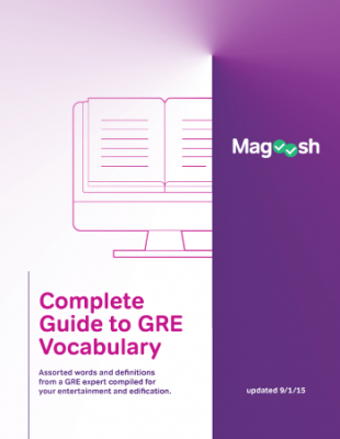 Ebook tiếng anh miễn phí Magoosh Gre-Vocabulary
